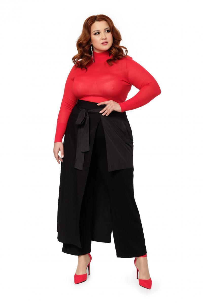 67846fc72db8 Черные юбка-брюки 501630