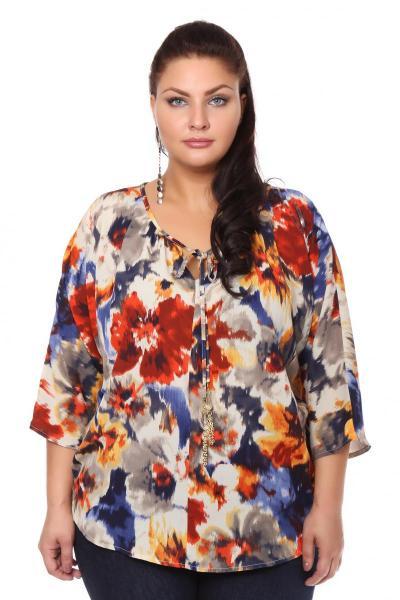 Артикул 105334 - блузка большого размера