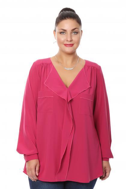 Артикул 16274 - блузка большого размера