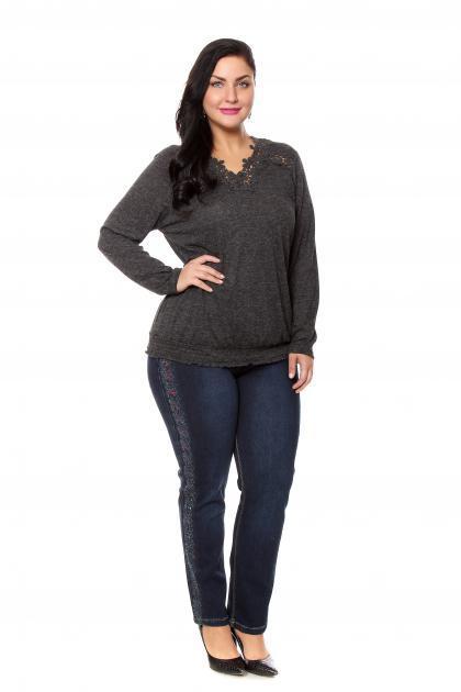 Артикул 204043 - джинсы большого размера