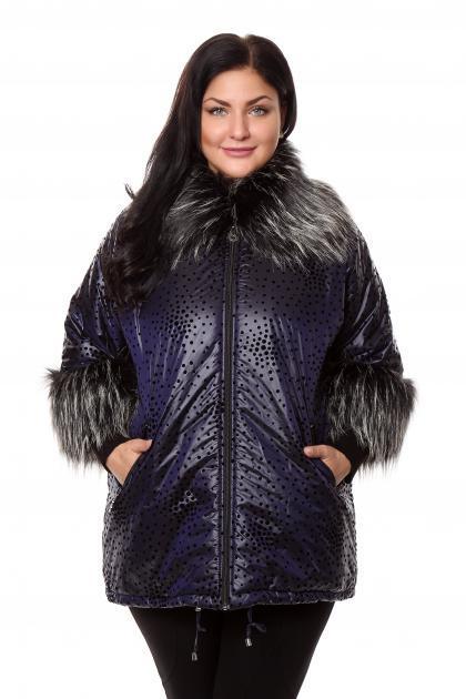 Артикул 202883 - куртка большого размера