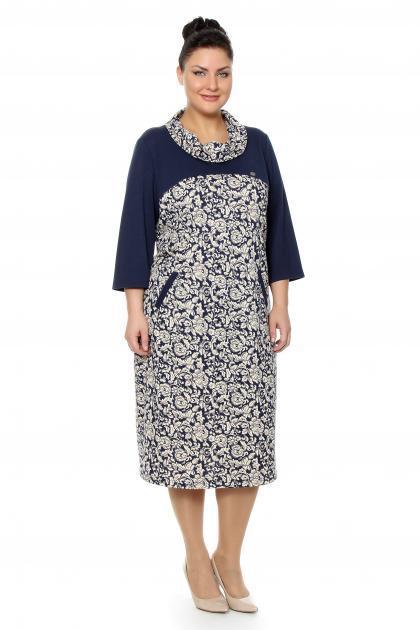 Артикул 16378 - платье большого размера