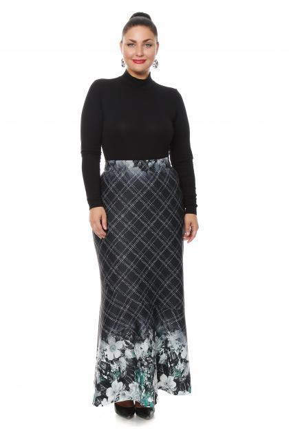 Артикул 16411 - юбка большого размера
