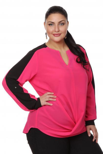 Артикул 15246 - блузка  большого размера