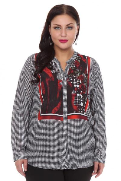 Артикул 108504 - блузка  большого размера