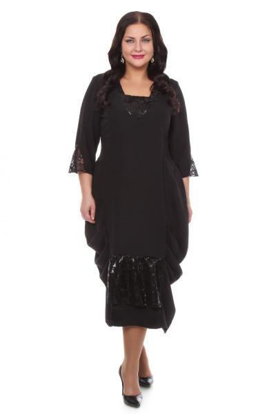 Артикул 16322 - платье большого размера