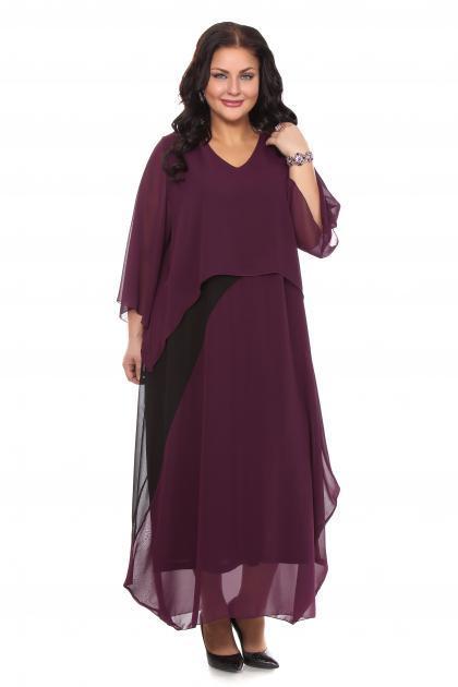 Артикул 105606 - платье большого размера