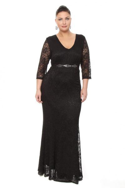 Артикул 16347 - платье  большого размера