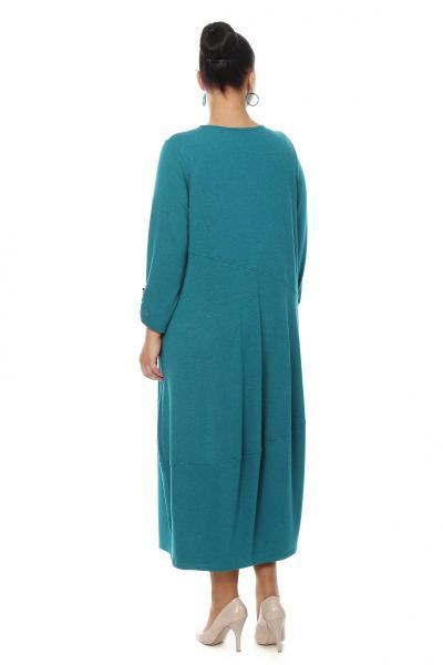 Артикул 16375 - платье большого размера - вид сзади