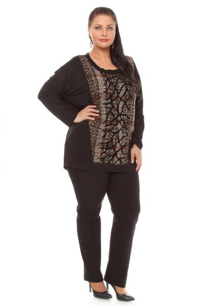 Артикул 119080 - брюки большого размера - вид сзади