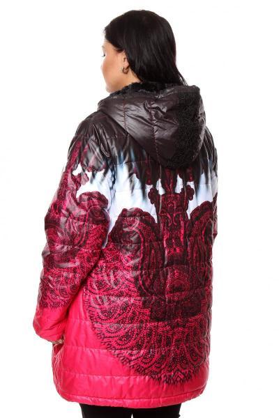 Артикул 270768 - куртка  большого размера - вид сзади