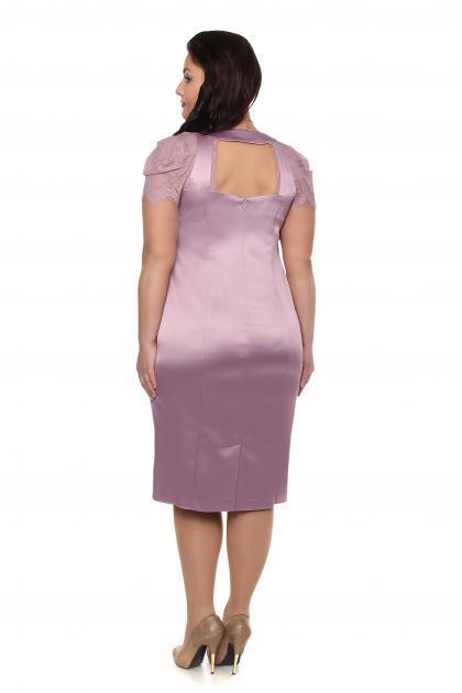 Артикул 12331 - платье большого размера - вид сзади
