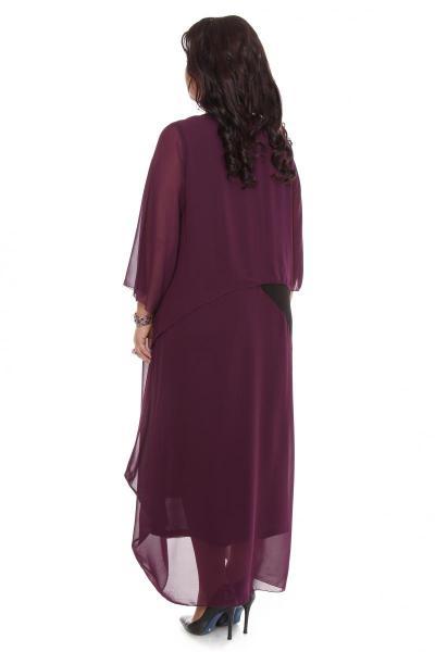 Артикул 105606 - платье большого размера - вид сзади
