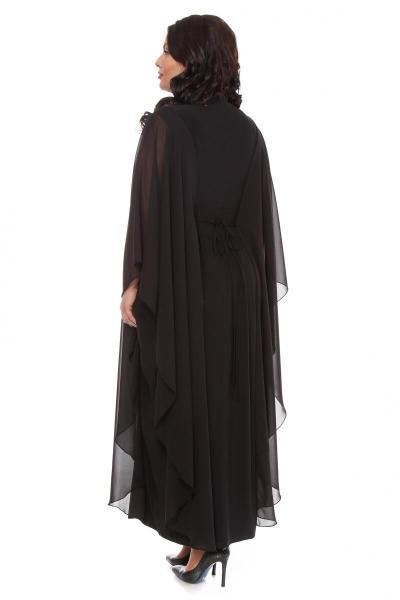 Артикул 002112-2 - платье большого размера - вид сзади