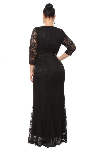 Артикул 16347 - платье  большого размера - вид сзади