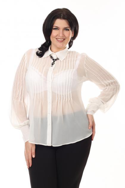 Артикул 12121 - блузка большого размера