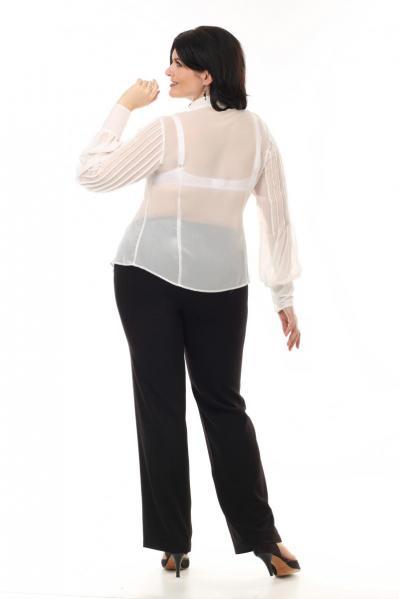 Артикул 12121 - блузка большого размера - вид сзади