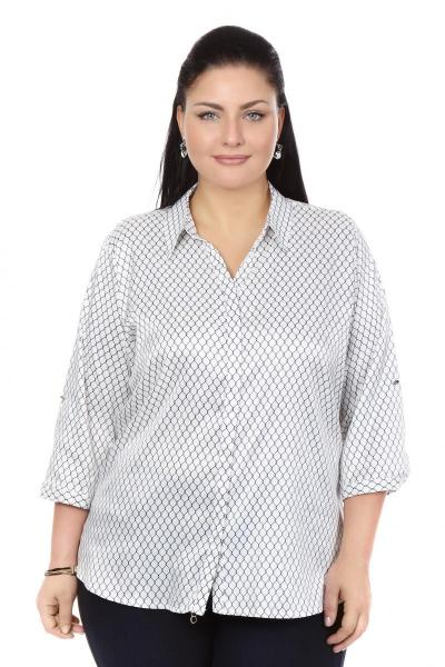 Артикул 101398 - блузка большого размера