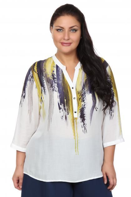 Артикул 107520 - блузка большого размера