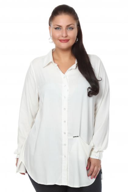 Белые Блузки Больших Размеров Купить