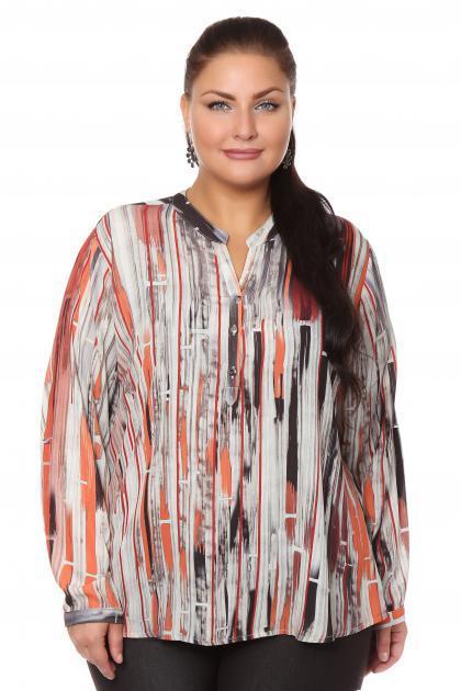 Артикул 108464 - блузка  большого размера