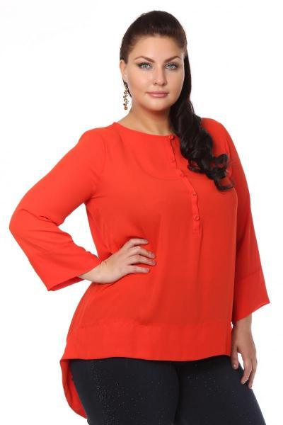 Артикул 105314 - блузка  большого размера