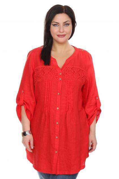Артикул 206310 - блузка  большого размера