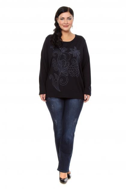 Артикул 201162 - джинсы большого размера