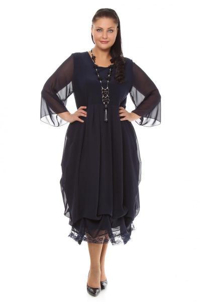 Артикул 105602 - платье  большого размера