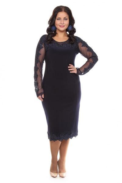 Артикул 109280 - платье большого размера