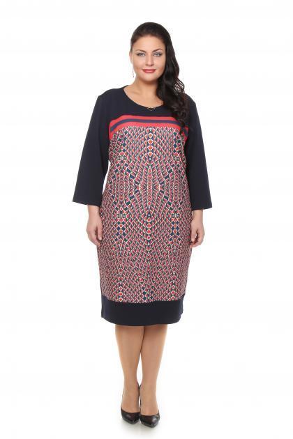 Артикул 105513 - платье большого размера