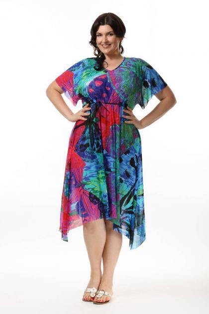 Платье пляжное 54 размера