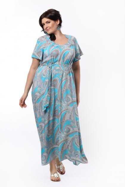 Артикул 13383 - платье большого размера