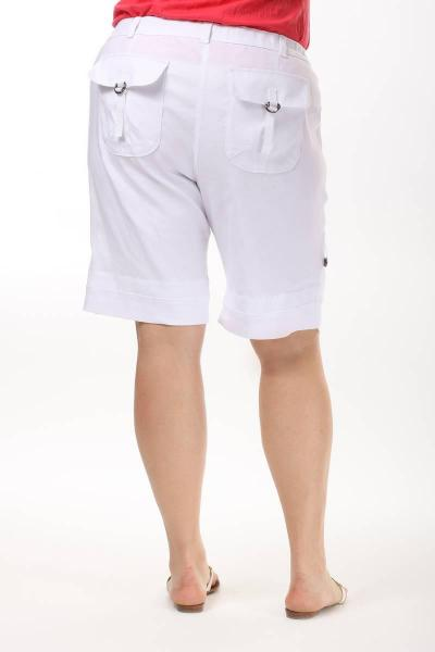 Артикул 13563 - шорты большого размера - вид сзади