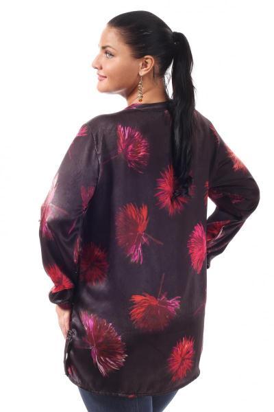 Артикул 005459 - блузка  большого размера - вид сзади