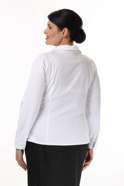 Артикул 14221 - блузка большого размера - вид сзади