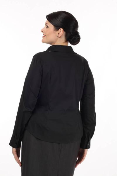 Артикул 14224 - блузка большого размера - вид сзади