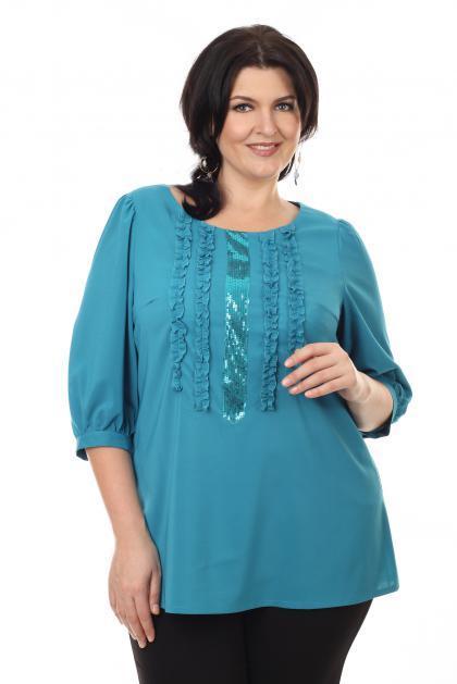 Артикул 14271 - блузка большого размера