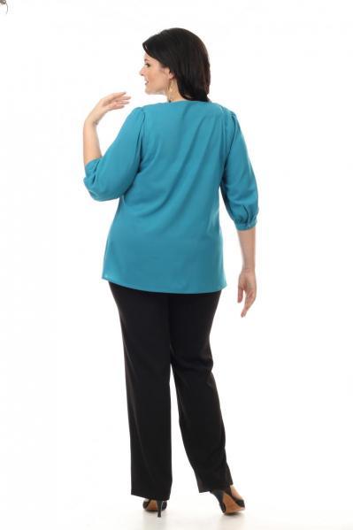 Артикул 14271 - блузка большого размера - вид сзади