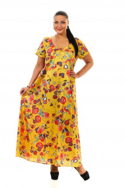 Артикул 14393 - платье  большого размера