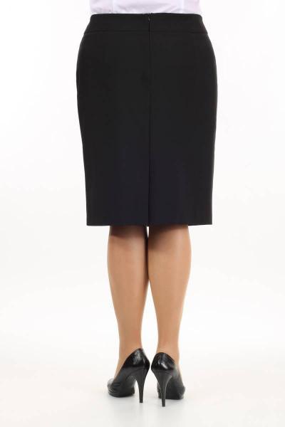 Артикул 14421 - юбка большого размера - вид сзади