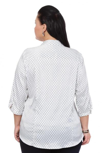 Артикул 101398 - блузка большого размера - вид сзади