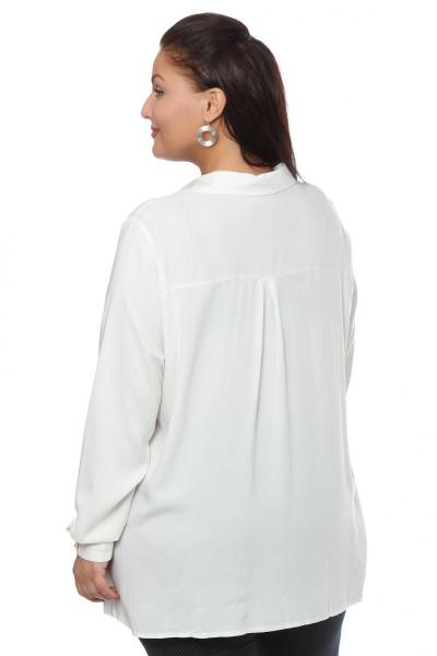 Артикул 101534 - блузка  большого размера - вид сзади