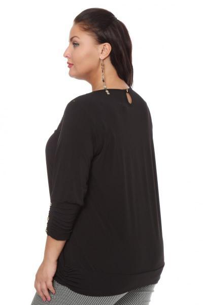Блузки туники больших размеров