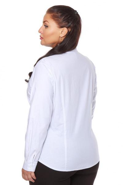 Артикул 108301 - блузка большого размера - вид сзади
