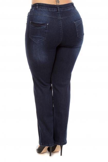 Артикул 201162 - джинсы большого размера - вид сзади
