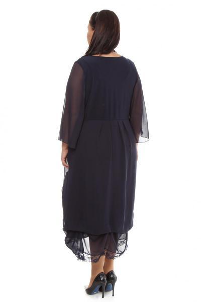 Артикул 105602 - платье  большого размера - вид сзади