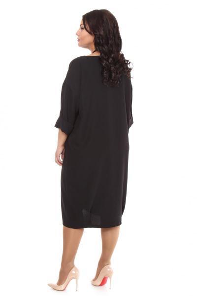 Артикул 16321 - платье большого размера - вид сзади