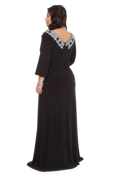 Артикул 109276 - платье  большого размера - вид сзади