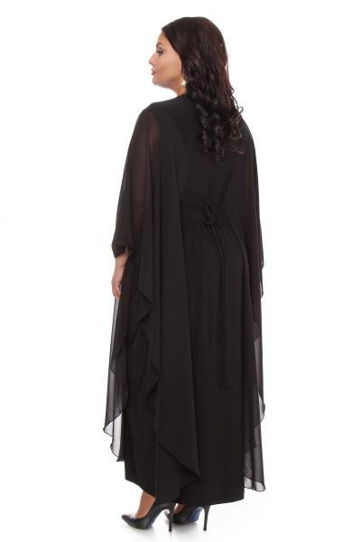 Артикул 002112-1 - платье большого размера - вид сзади